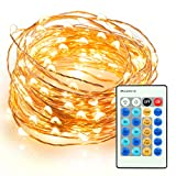 Dimmable Led String Lights, TaoTronics 100 Leds Twinkle...