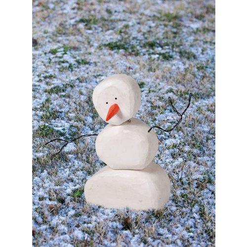 Gifted Living Bloomwood Meadows Snowman Statue at Sears.com