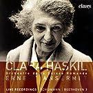 Clara Haskil in Geneva & Montreux