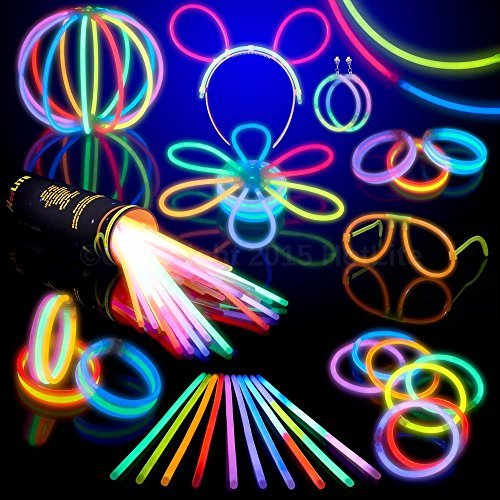 100-glow-stick-party-pack-8-hotlite-premium-bracelets-necklaces-kits-to-create-glasses-triple-bracel