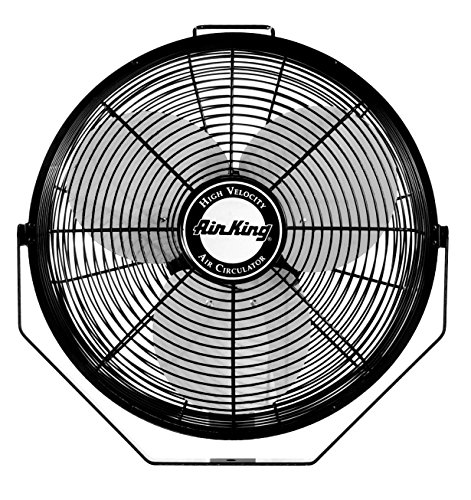 For Sale! Air King 9312 Powder-Coated Steel Multi-Mount Wall Fan, Black