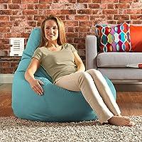 Designer Recliner Gaming Bean Bag - Waterproof Indoor & Outdoor Beanbag Chair by Bean Bag Bazaar® (Duck Egg) by Bean Bag Bazaar®