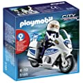 Playmobil 5185 City Action Police Motorbike