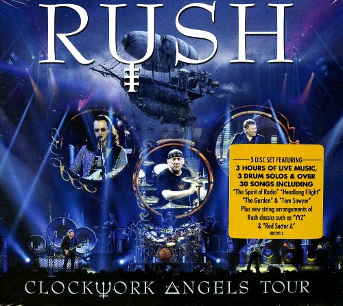 Rush-Clockwork Angels Tour-3CD-FLAC-2013-FORSAKEN Download