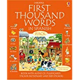 First 1000 Words Pack - Spanish (First Thousand Words) (Usborne First Thousand Words)by Stephen Cartwright