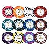 Eco Ride World カジノ ポーカー チップマーカー 12枚セット SO_270