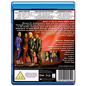 Red Dwarf - Back to Earth [Blu-ray] [Import anglais]