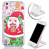 Vandot iPhone 6 ケース/ iPhone 6S ケース 4.7 インチ 可愛い クリスマスギフト クリスマスツリー サンタクロース デザイン ハード PC アイフォン 6 アイフォン 6