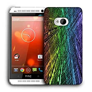 Snoogg City Technology Printed Protective Phone Back Case Cover For HTC One M7