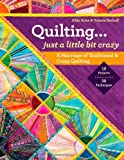 Quilting  Just a Little Bit Crazy: A Marriage of Traditional & Crazy Quilting