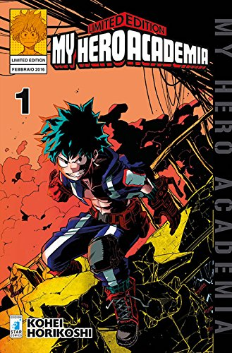 My Hero Academia. Limited edition