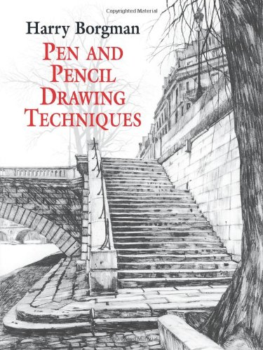 Book review pen and pencil drawing techniques