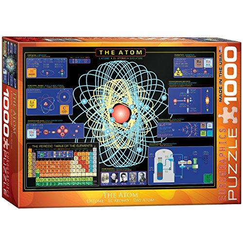 Eurographics The Atom 1000-Piece Puzzle