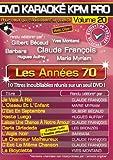 echange, troc DVD Karaoké KPM Pro Vol. 20 Les Années 70