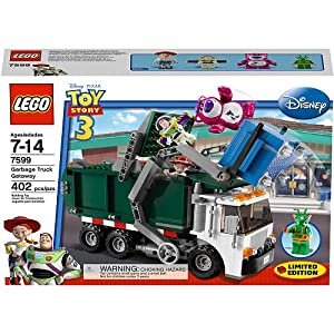 LEGO Toy Story 3 Exclusive Limited Edition Set #7599 Garbage Truck Getaway