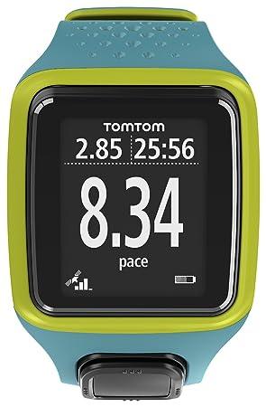 TOMTOM RUNNER TURQUOISE ET VERT Montre GPS