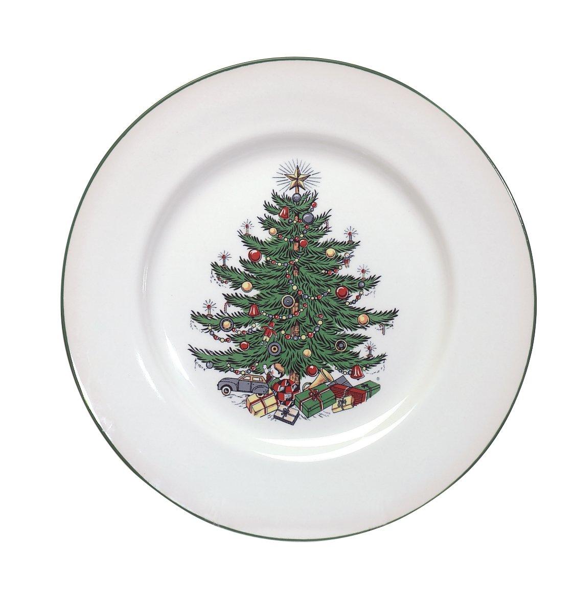 100 Spode Christmas Tree Gold Spode Christmas Plate