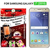 For Samsung Galaxy J7 (New 2016 Edition - J710) - TGK PREMIUM 9H Hardness ShatterProof Toughened Tempered Glass...