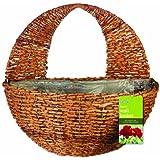 Gardman Hanging Basket Rustic 30 CM Natural Colour