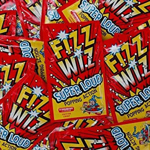 Fizz Wizz Strawberry Flavour Popping Candy (Sold Singly)