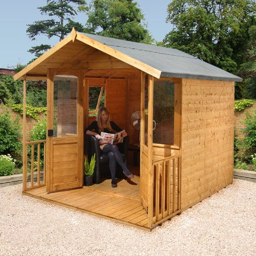 8x8 Hollington Summerhouse