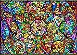 ディズニー ステンドアート1000ピース オールスター ステンドグラス DS-1000-764