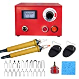 Wood Burning Machine Kit 50W Pyrography Machine Digital Temperature Adjustable Wood-Burner Tool Kit for for Wood/Leather/Gourd/Bamboo (Color: pattern 1, Tamaño: 150*105*110cm)