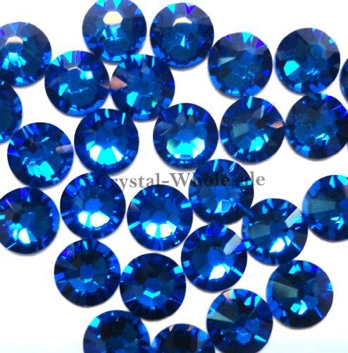 1440 Swarovski 2028 2038 20ss HOTFIX crystal flatbacks ss20 BLACK DIAMOND A HF