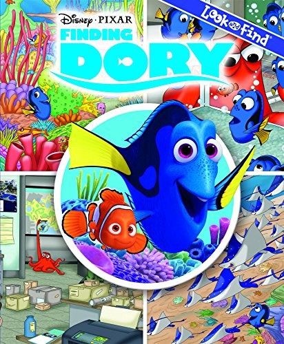 Finding Dory Look and Find (Disney Pixar)