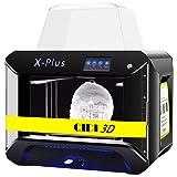 QIDI TECH 3D Printer, Large Size X-Plus Intelligent Industrial Grade 3D Printing with Nylon, Carbon Fiber, PC,High Precision Printing 10.6x7.9x7.9 Inch