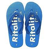 Bareskin Trendy Blue Flip Flops