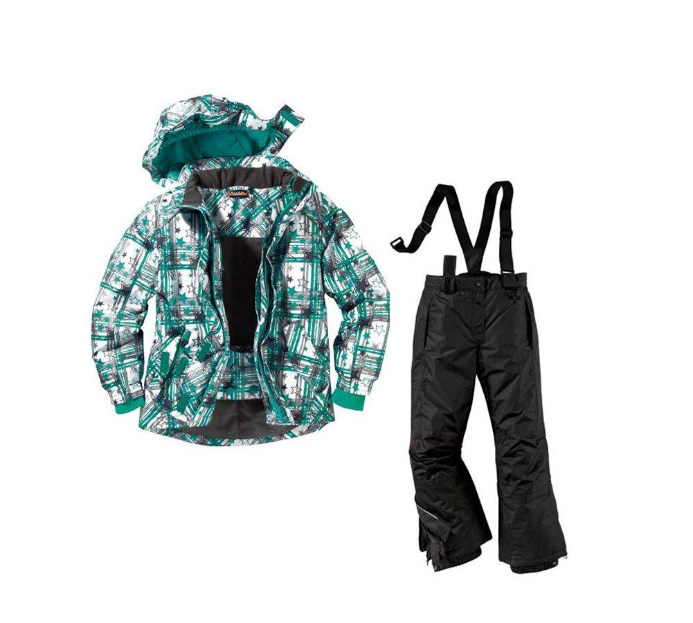 Mädchen Skianzug Snowboardanzug Größe: 122/128 Snowboardjacke & Snowboardhose Set Schneeanzug günstig kaufen