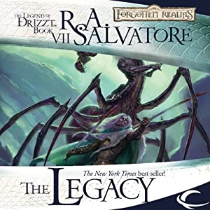 03. Legacy of the Drow (Unabridged) - R.A. Salvatore