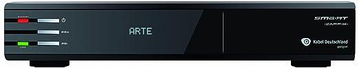 Smart HD-Kabel-Receiver Zappix KD Aufnahmefunktion Anzahl Tuner: 1