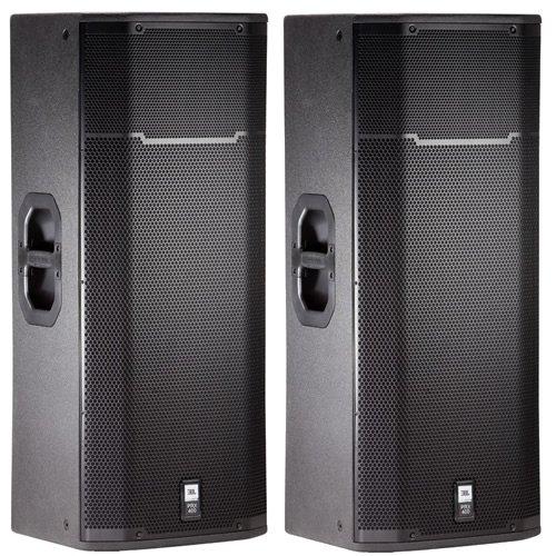 "Jbl Prx425 Dual 15"" Main Passive Dj Pa Speaker - Pair New"