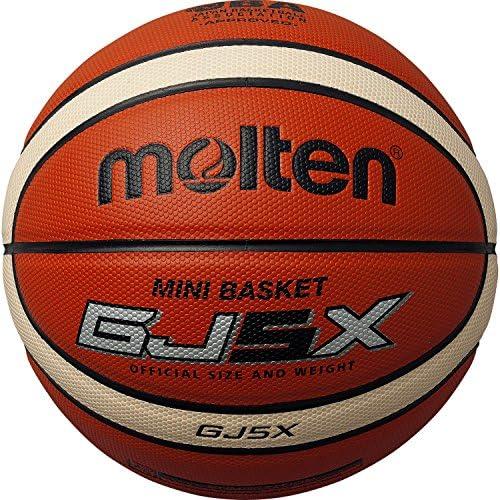 몰 텐(몰 텐) 농구 5 호공 BGJ5X (Size:5 호공|Color:오렌지×아이보리)