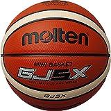 molten(モルテン) バスケットボール GJ5X BGJ5X オレンジ×アイボリー 5号球