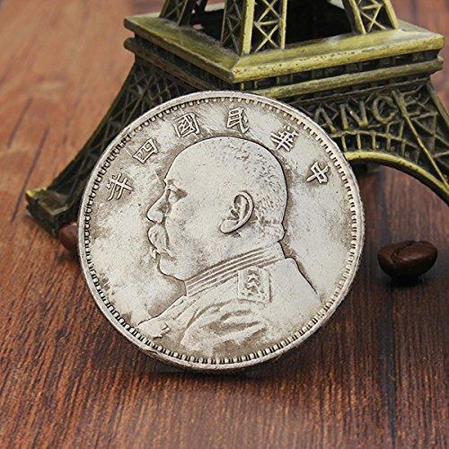 bluelover-cupronickel-plata-recoger-moneda-yuan-shikai-cabeza-antigua-china-antigua