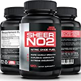 SHEER NO2: #1 Best Nitric Oxide Supplement ● The Top-Rated Nitric Oxide Booster from Sheer Strength Labs ● Build Muscle and Strength Or It's Free: 30-Day 'Thrilled Customer' 100% Guarantee!