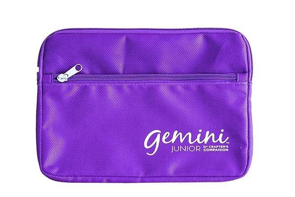 Gemini GEMJR-Acc-PSB Junior Accessories-Purple 6x 9 Plate Storage Bag, 6-Inch x 8.9-Inch (Color: Purple, Tamaño: 6-Inch x 8.9-Inch)