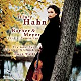 Barber, Meyer: Violin Concertos