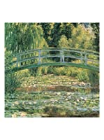 Artopweb Panel Decorativo Monet Le Pont Japonais 70x70 cm
