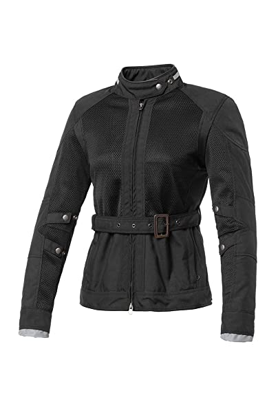 Tucano urbano 8941WF020N4 lADY mARLON-women's jacket, inserts en maille filet en nylon, amovible coupe-vent et inner showerproof lining-noir-taille m