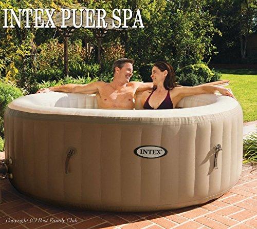 INTEX バブルジェットintex 移動式 Spa バブルバス インテックス Pure Spa ファイバーテック Spa Bubble Therapy 屋内 屋外スパジャグジー