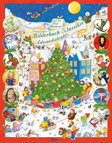 Bilderbuch-Klassiker-Adventskalender-mit-2-Maxi-Pixi-und-22-Pixi-Bchern