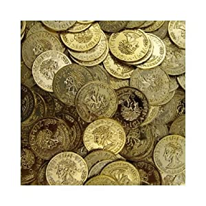 Click to buy Pirate Birthday Party Ideas: 144 Gold Coins from Amazon!