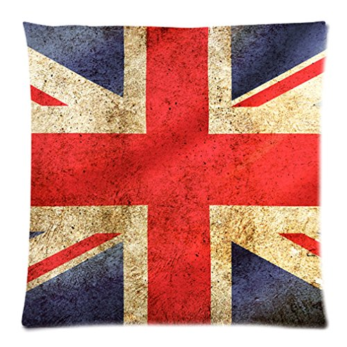 """Funny American Flag Retro Vintage Collage Design Custom Zippered Pillow Case 20""""X20""""(Two Sides) front-1056943"""