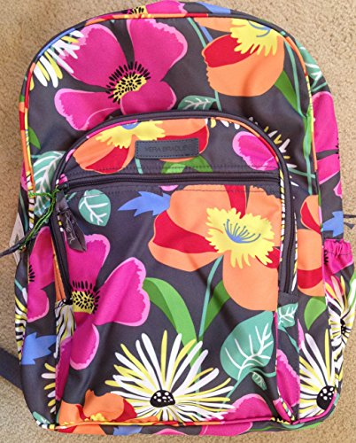 Vera Bradley Lighten Up Campus Backpack (Jazzy Blooms)