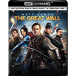 The Great Wall [4K Ultra HD + Blu-ray]