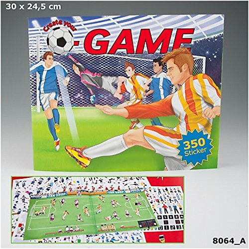 Create your Football Game Malbuch Fussball Motive